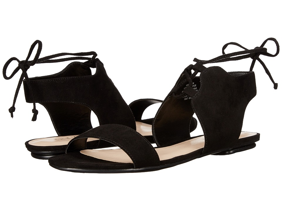 Nine West - Jadlin (Black Leather) Women's Sandals