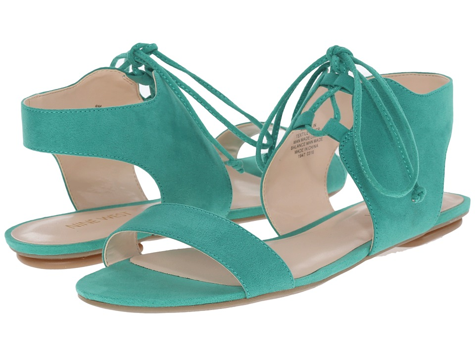 Nine West Jadlin (Green Leather) Women
