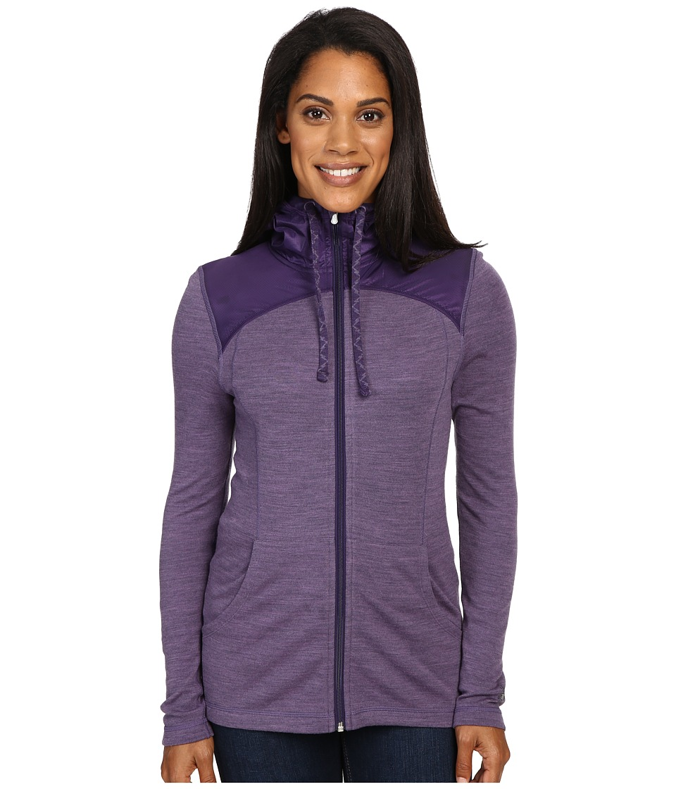 Smartwool - NTS Mid 250 Hoodie Sport (Desert Purple Heather) Women's Sweatshirt