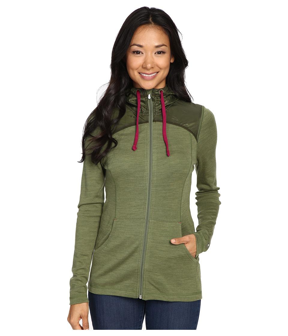 Smartwool - NTS Mid 250 Hoodie Sport (Light Loden Heather) Women's Sweatshirt