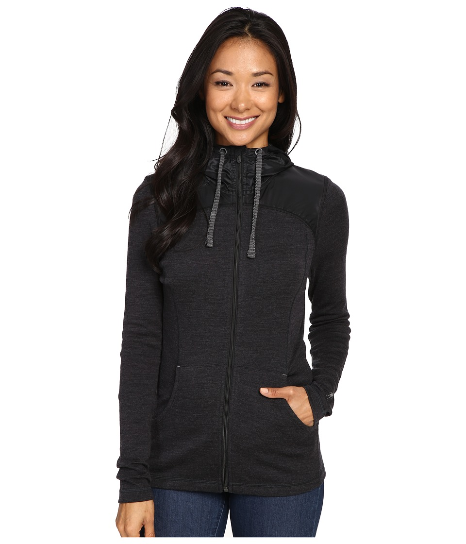 Smartwool - NTS Mid 250 Hoodie Sport (Charcoal Heather) Women's Sweatshirt