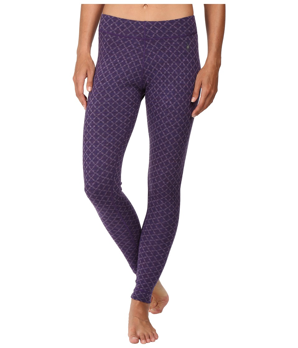 Smartwool - NTS Mid 250 Pattern Bottoms (Mountain Purple Heather) Women's Casual Pants