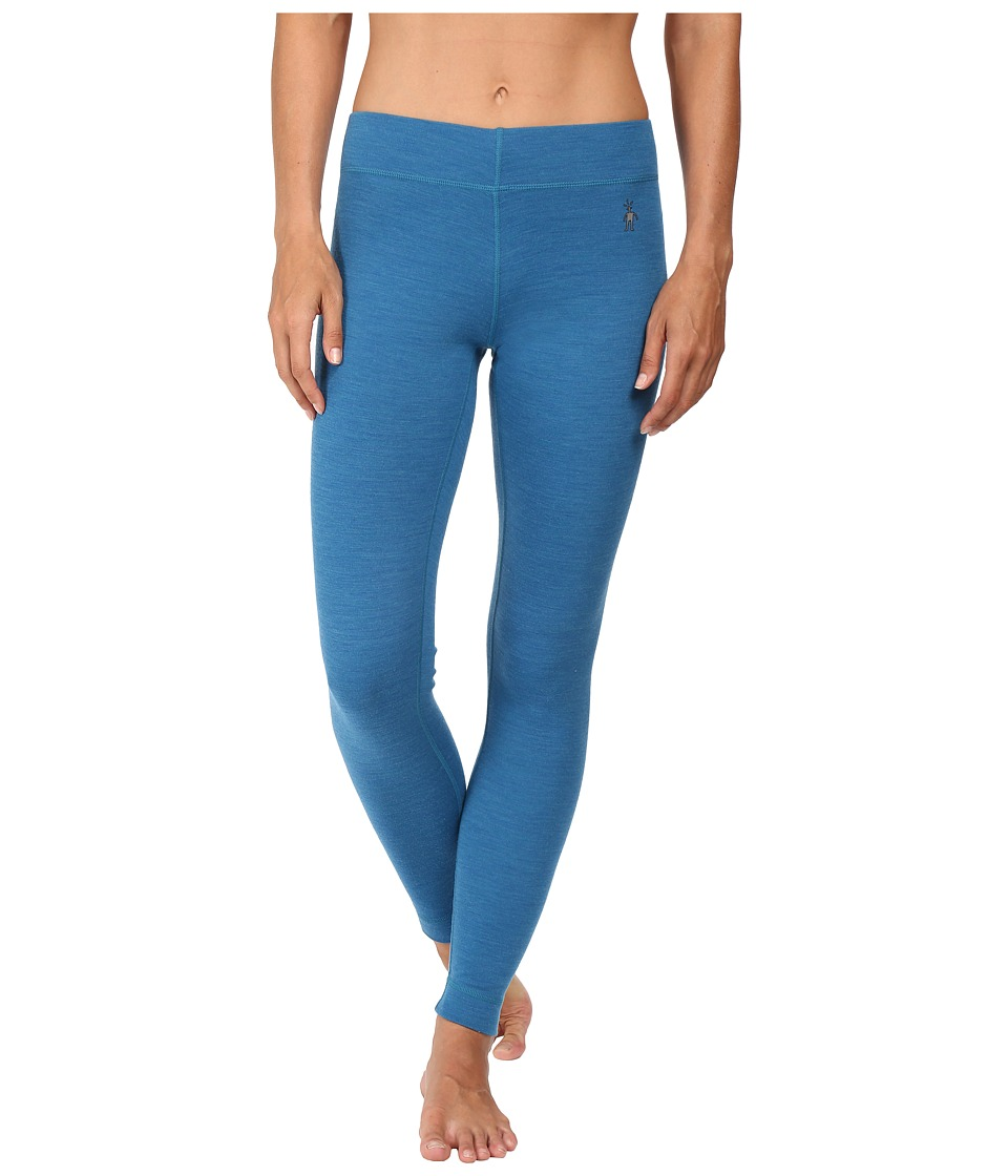 Smartwool - NTS Mid 250 Bottoms (Glacial Blue Heather) Women's Casual Pants