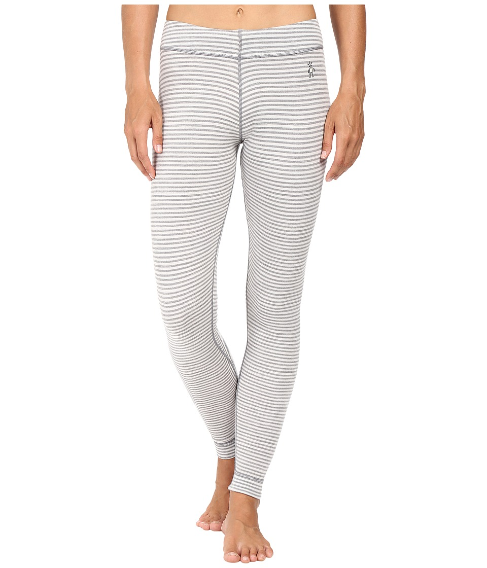 Smartwool - NTS Mid 250 Pattern Bottoms (Light Gray Heather/Natural) Women's Casual Pants