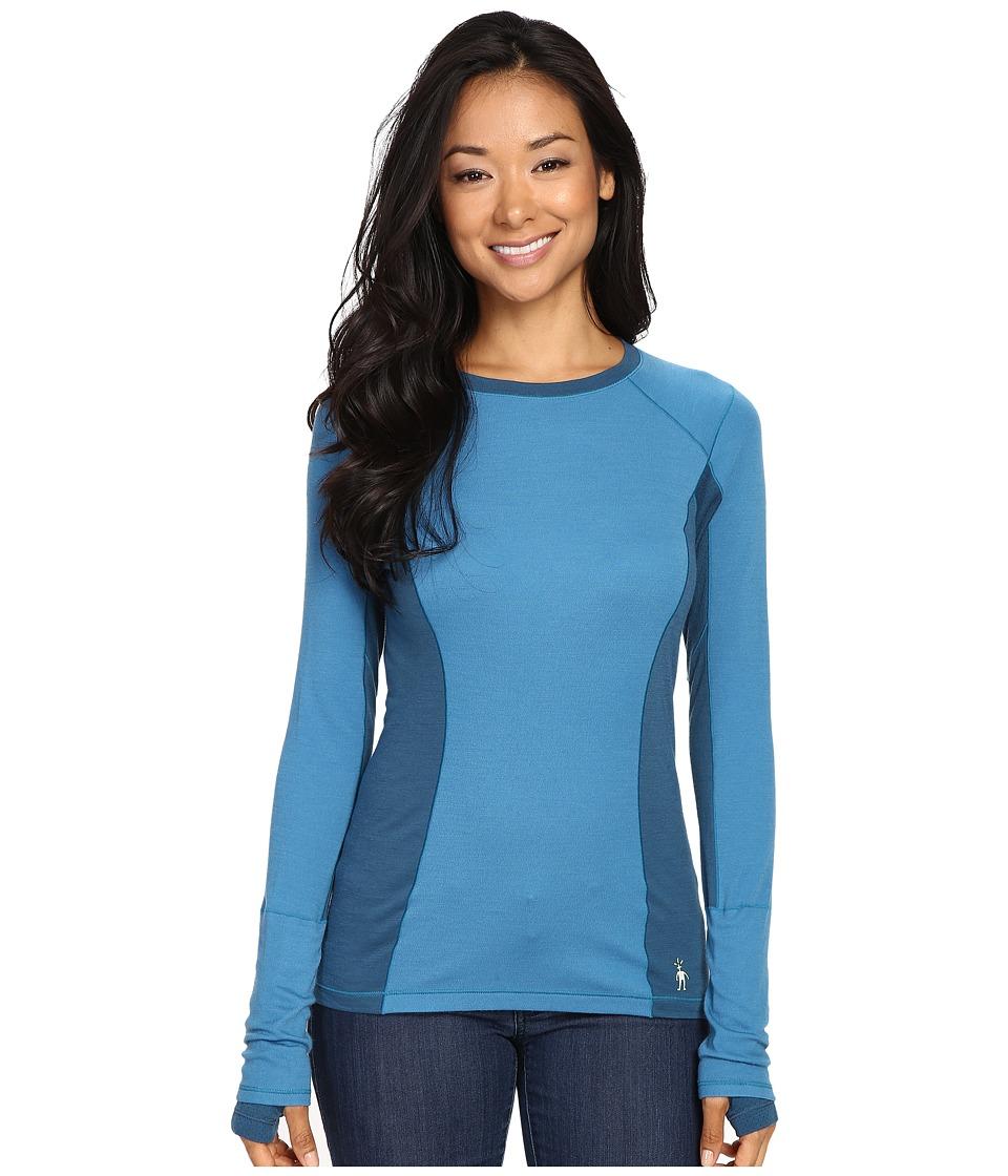 Smartwool - PhD Light Long Sleeve Shirt (Glacial Blue) Women's Long Sleeve Pullover
