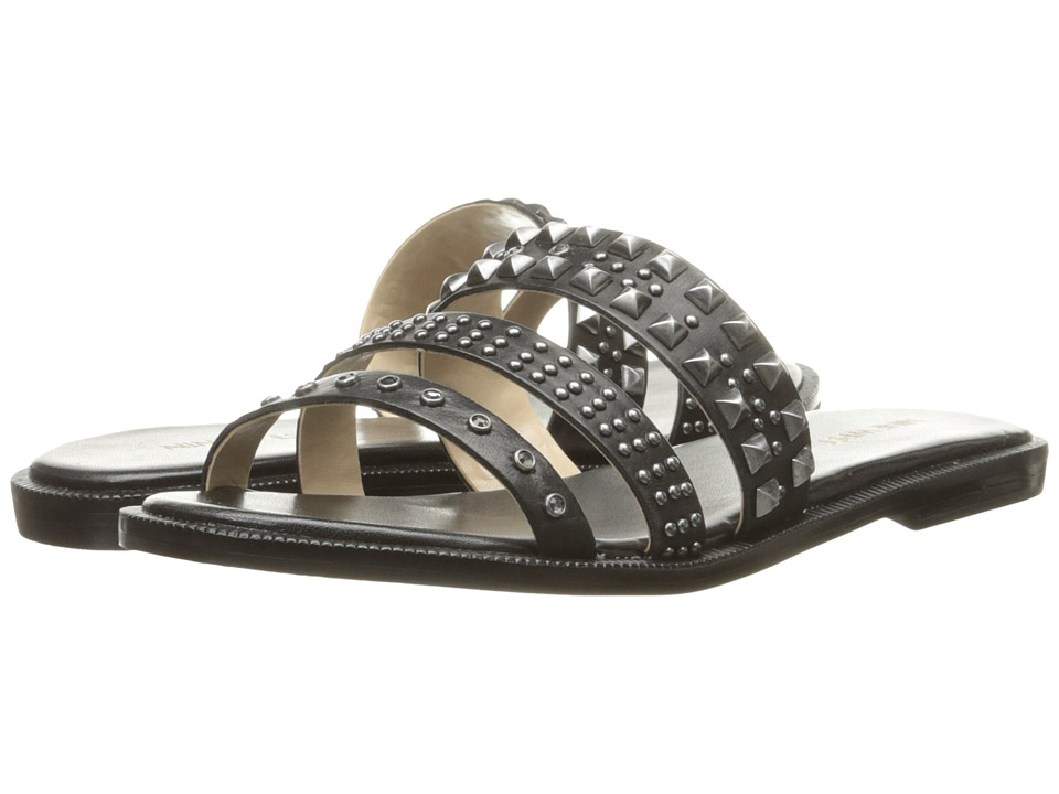 Nine West - Jellybean (Black Leather) Women's Sandals