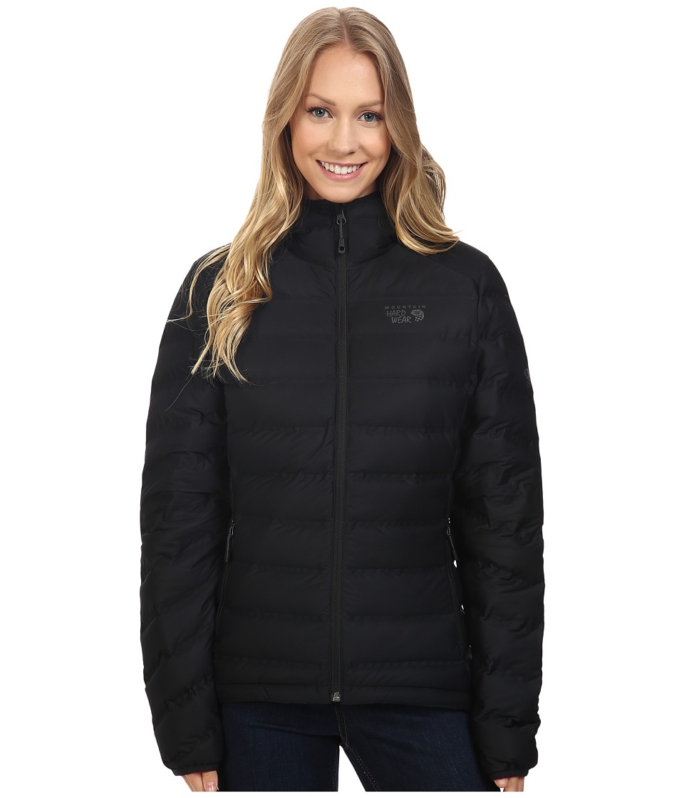 Mountain Hardwear - StretchDown Hooded Jacket (Black) Women's Coat