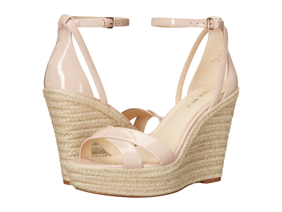 Nine West - Joker3 (Light Natural Synthetic) Women's Wedge Shoes