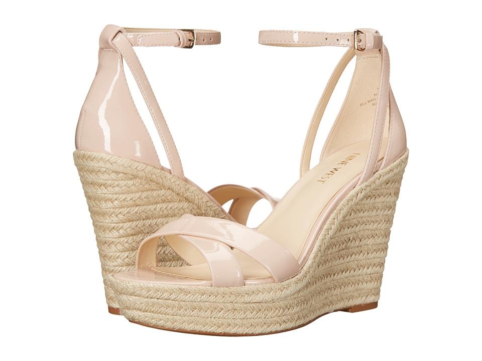 Nine West - Joker3 (Light Natural Synthetic) Women's Wedge Shoes
