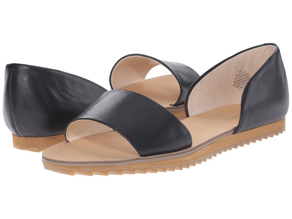 Nine West - Qualify (Black/Black Leather) Women's Sandals