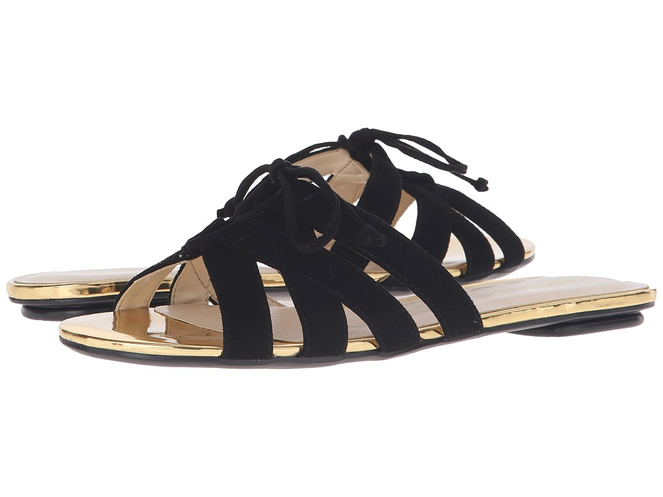 Nine West - Julianna (Black Suede) Women's Sandals