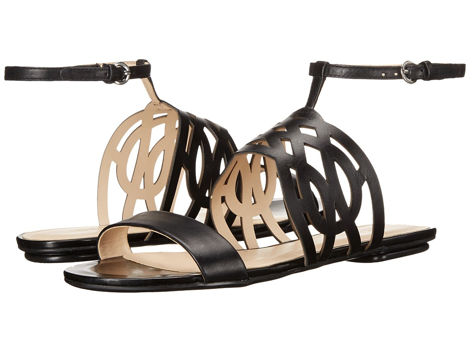 Nine West - Jumprope (Black Leather) Women's Sandals