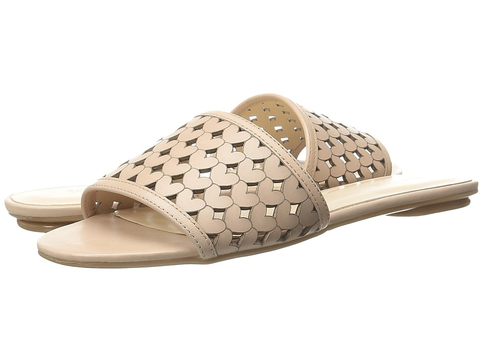 Nine West - June (Light Natural Leather) Women's Slide Shoes