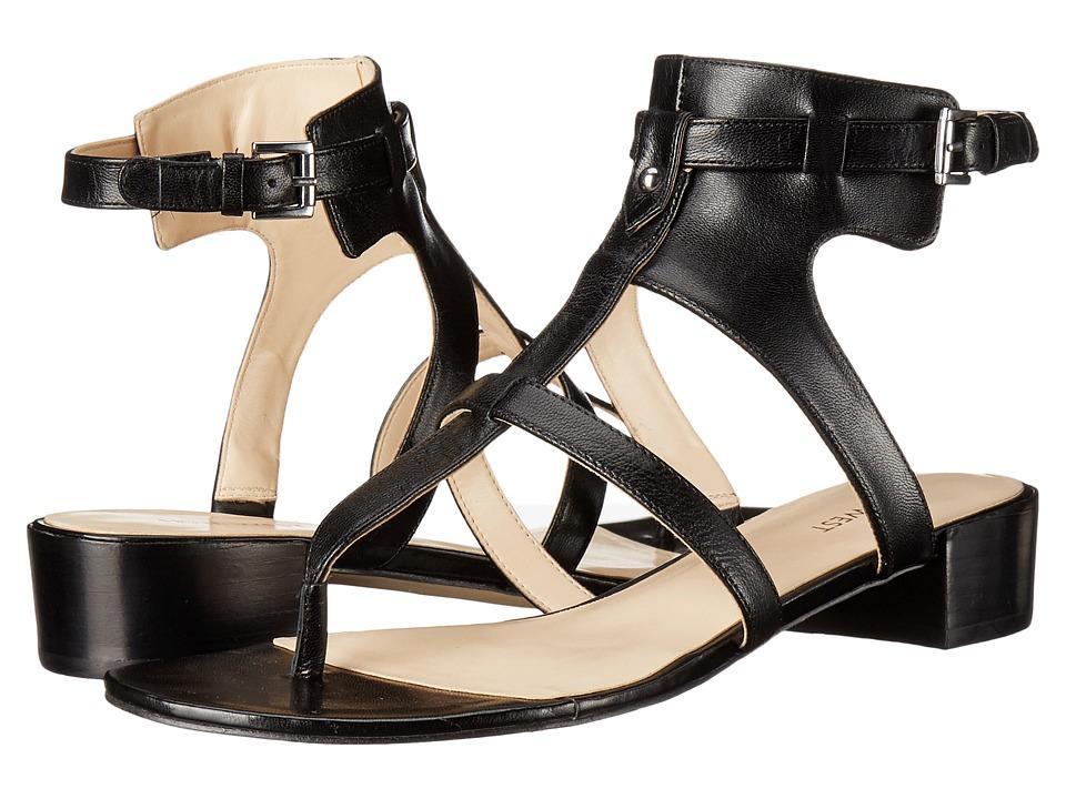 Nine West - Justnice (Black Leather) Women's Shoes