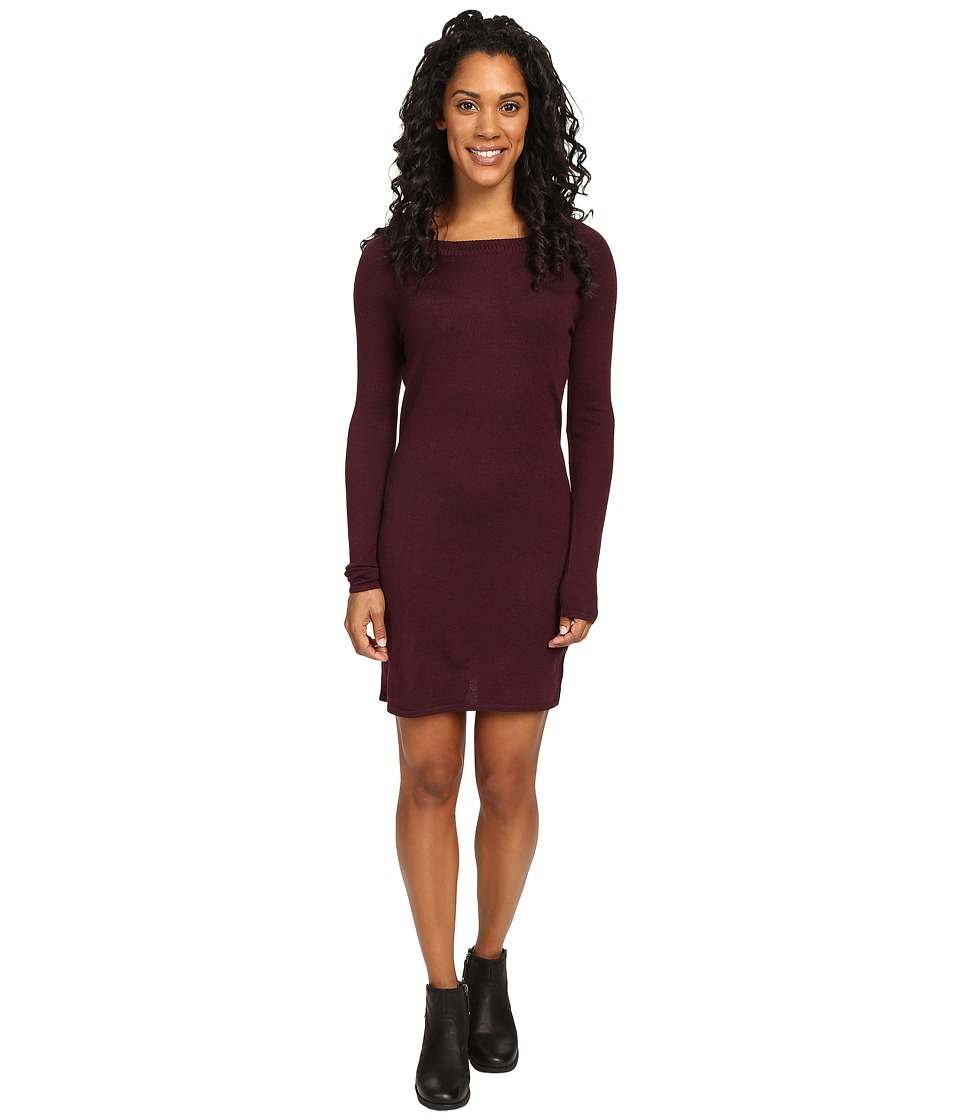 Smartwool - Camp House Solid Dress (Aubergine Heather) Women's Dress