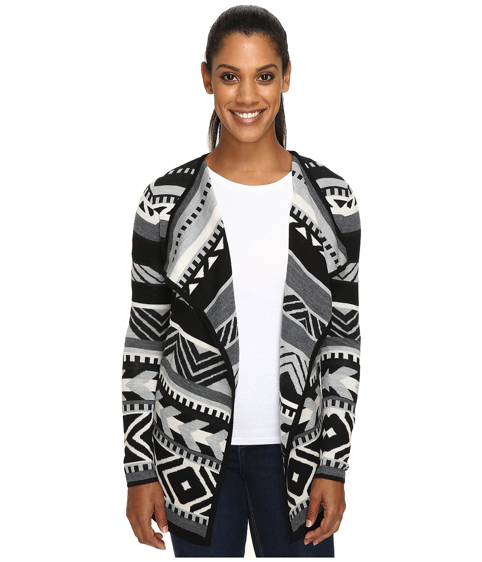 Smartwool - Camp House Wrap (Black) Women's Long Sleeve Pullover