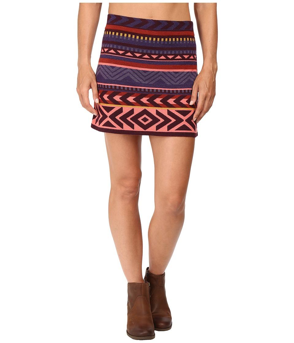 Smartwool - Camp House Skirt (Aubergine Heather) Women's Skirt