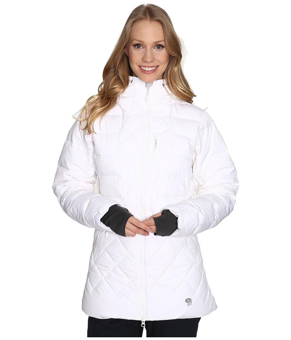 Mountain Hardwear - Downhill Parka (White/Steam) Women's Jacket