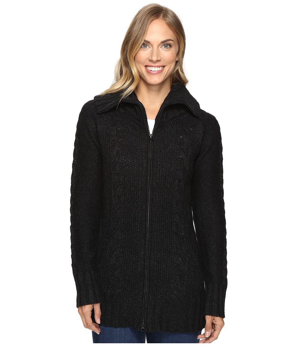 Smartwool Crestone Sweater Jacket (Charcoal Heather) Women