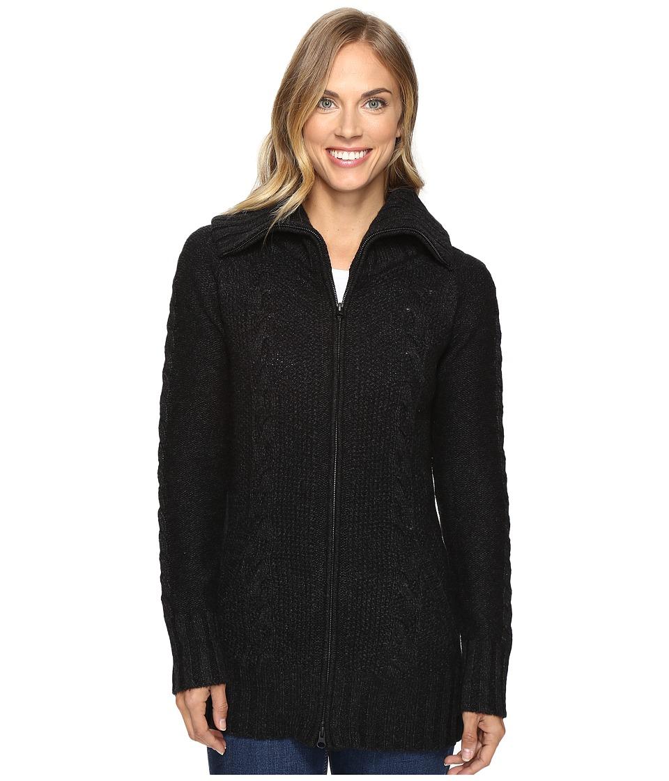 Smartwool - Crestone Sweater Jacket (Charcoal Heather) Women's Sweater