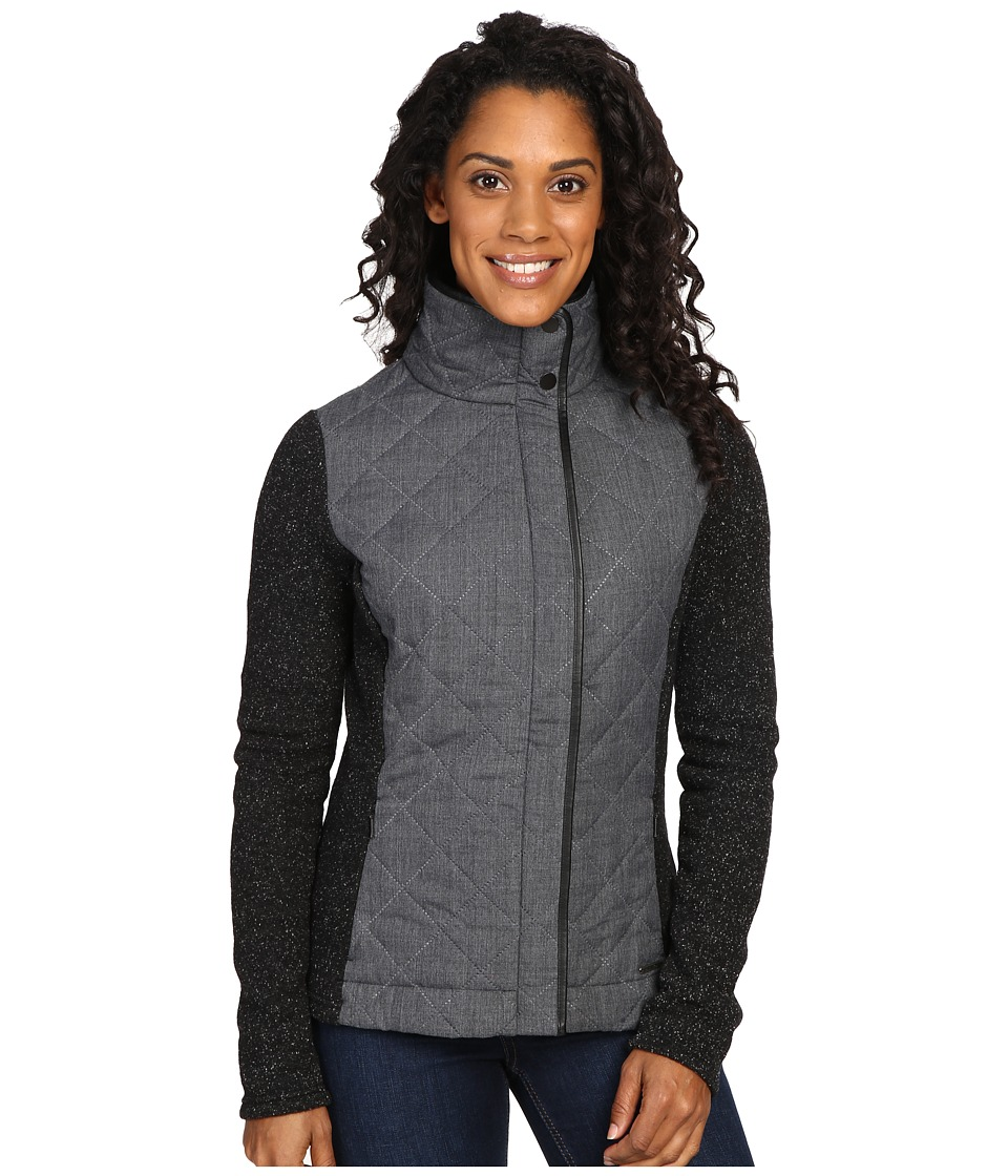 Smartwool - Pinery Quilted Jacket (Charcoal Heather) Women's Coat