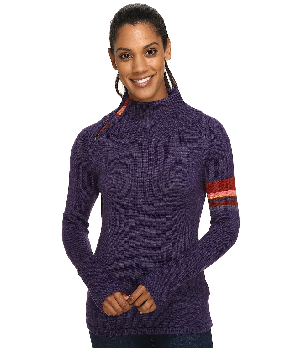 Smartwool Isto Sport Sweater (Mountain Purple Heather) Women