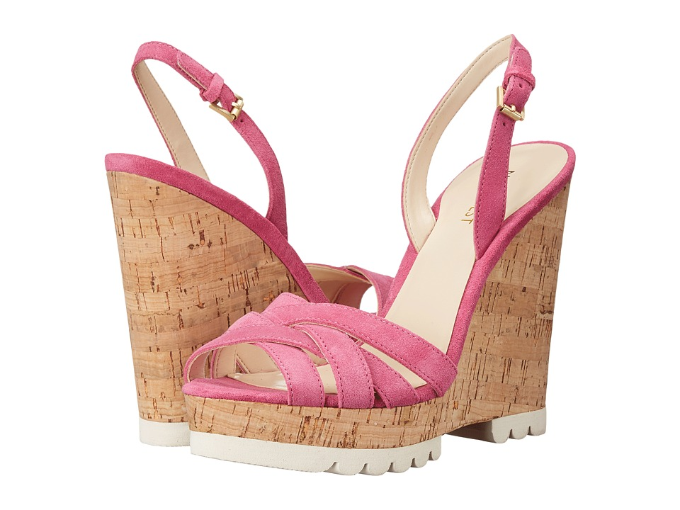 Nine West - Kindeyes (Medium Pink Suede) Women's Shoes