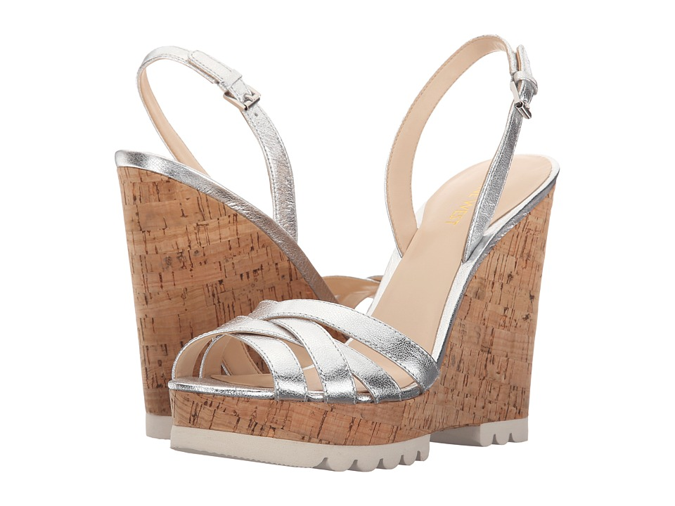 Nine West - Kindeyes (Silver Metallic) Women's Shoes