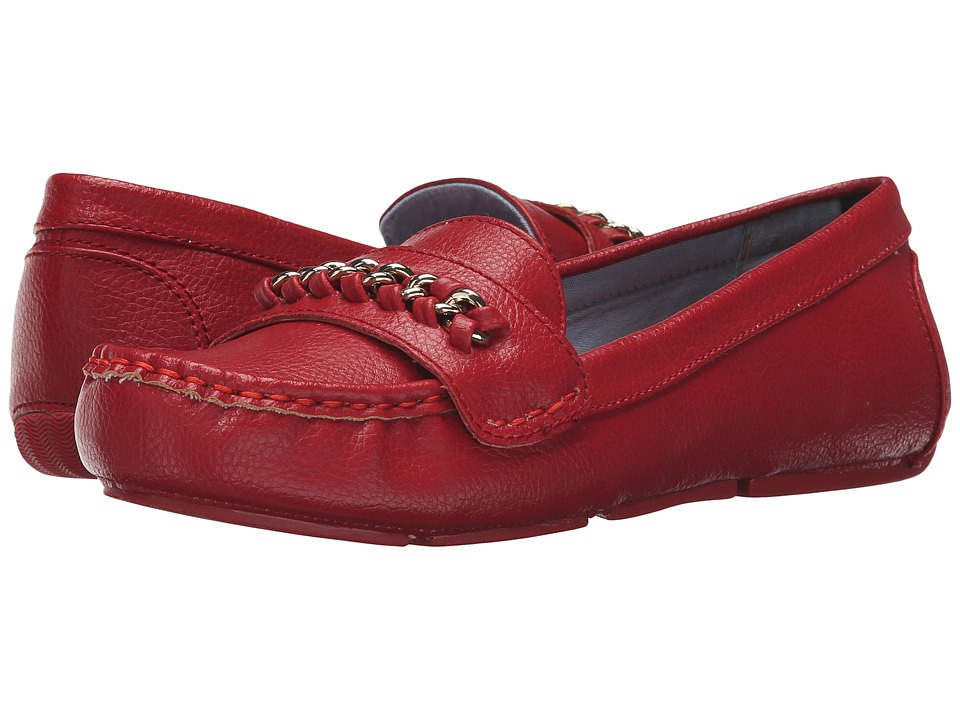 Tommy Hilfiger - Zeta (Red/White) Women's Shoes