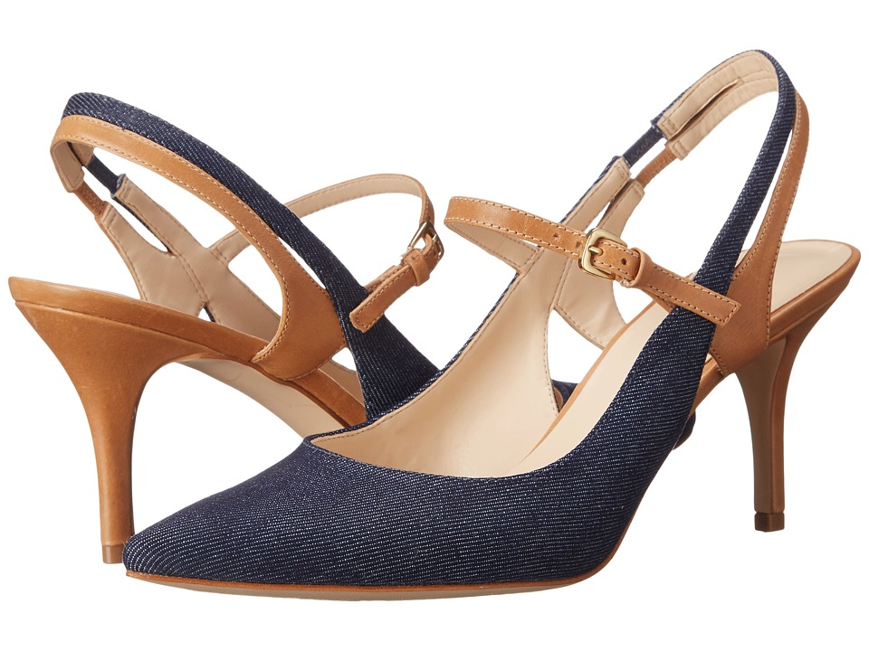 Nine West - Kookie7 (Blue/Medium Natural Denim) Women's Shoes