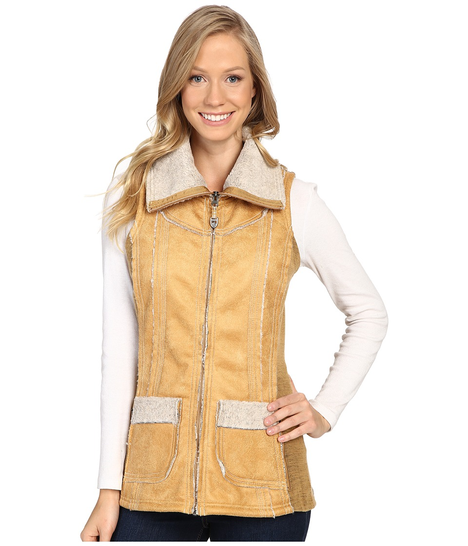 KUHL Dani Sherpa Vest (Buckskin) Women