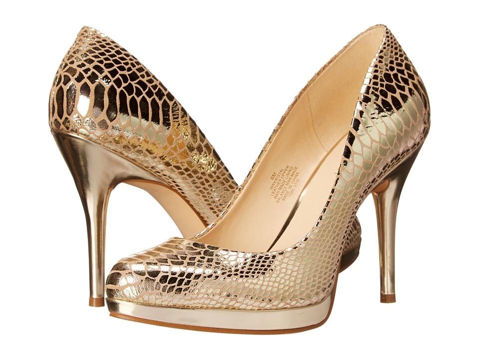 Nine West - Kristal (Light Gold Metallic) Women's Shoes