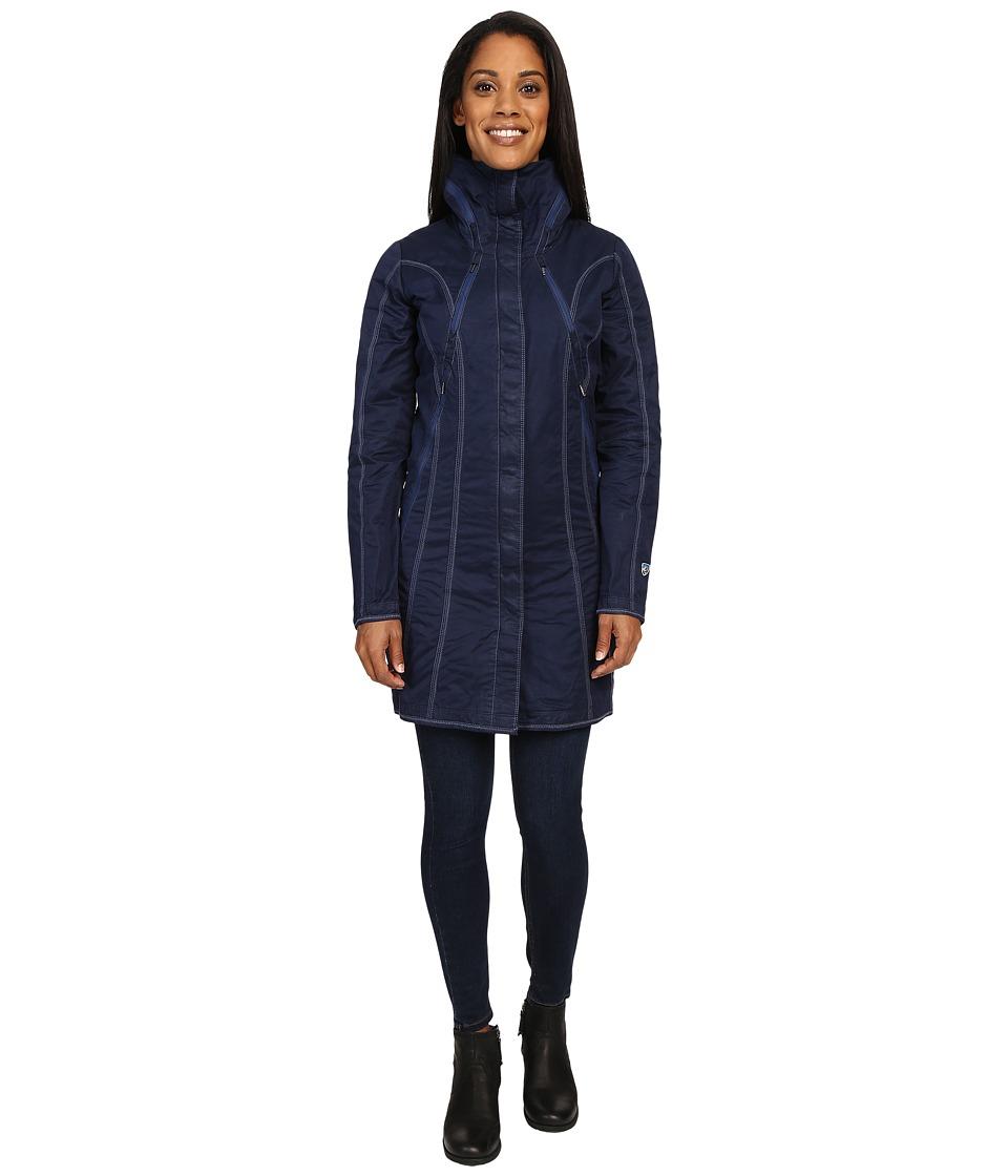 KUHL - Lena Trenchtm (Midnight Sky) Women's Coat