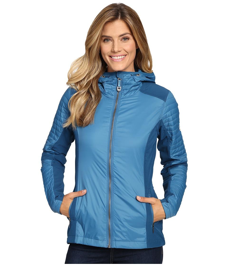 KUHL - Firefly Hoodie (Ocean) Women's Sweatshirt