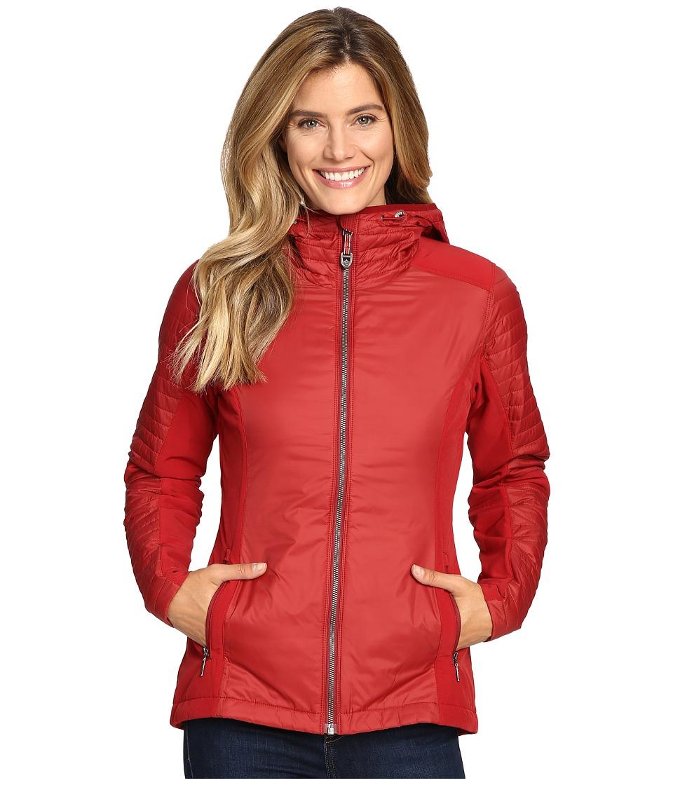 KUHL - Firefly Hoodie (Red Spice) Women's Sweatshirt