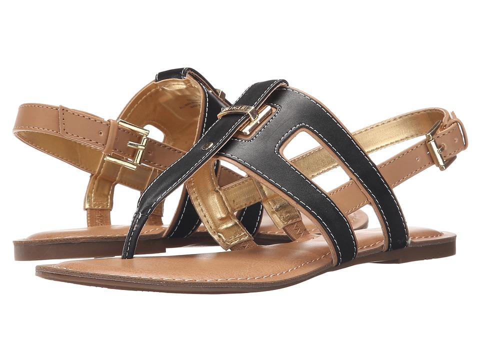 Tommy Hilfiger - Lynnie (Black/Sable 1) Women's Sandals