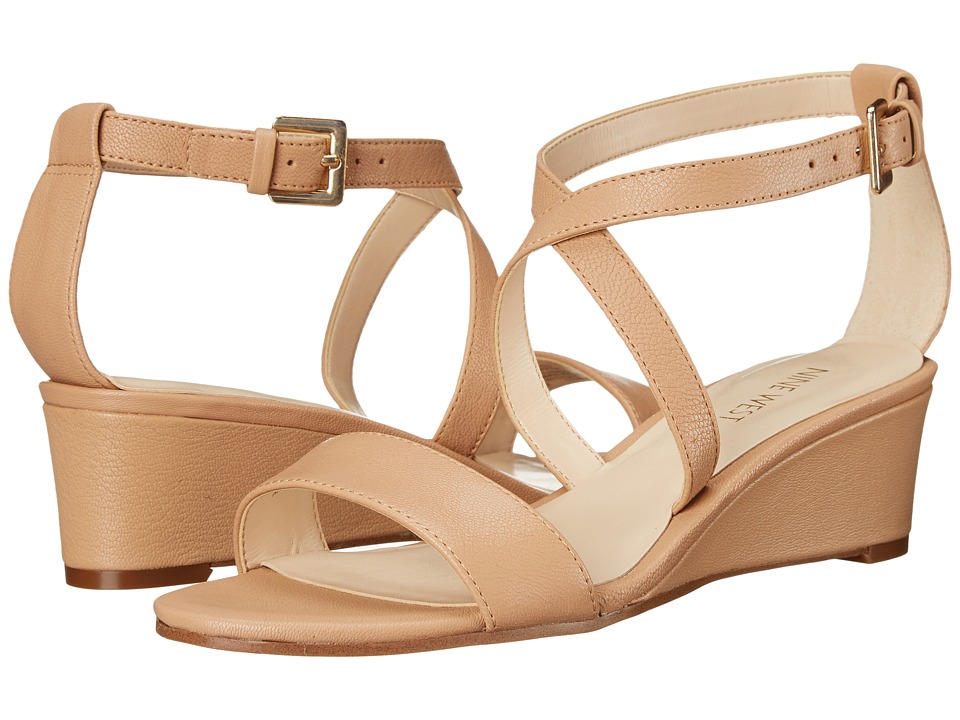 Nine West - Lacedress (Natural Leather) Women's Shoes