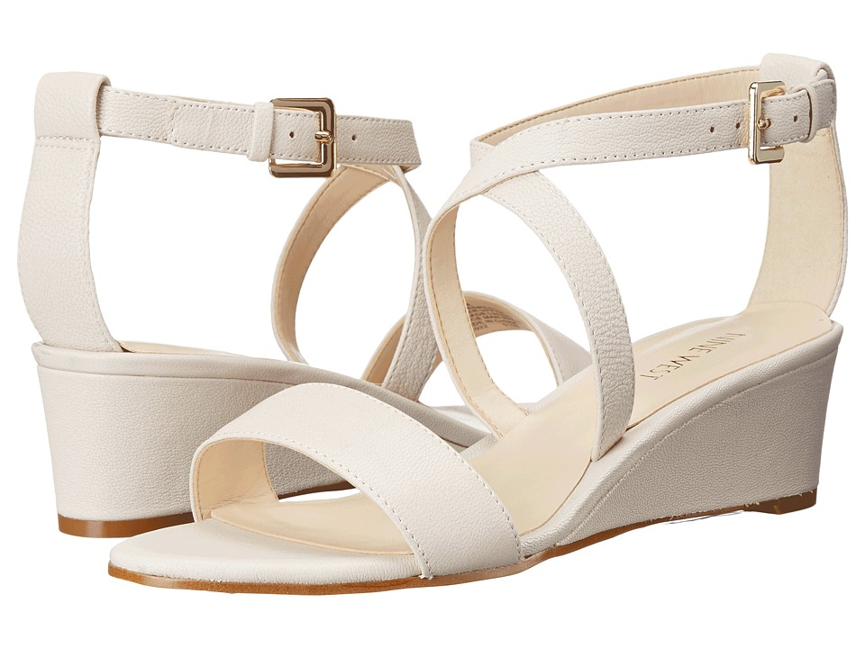 Nine West - Lacedress (Off-White Leather) Women's Shoes