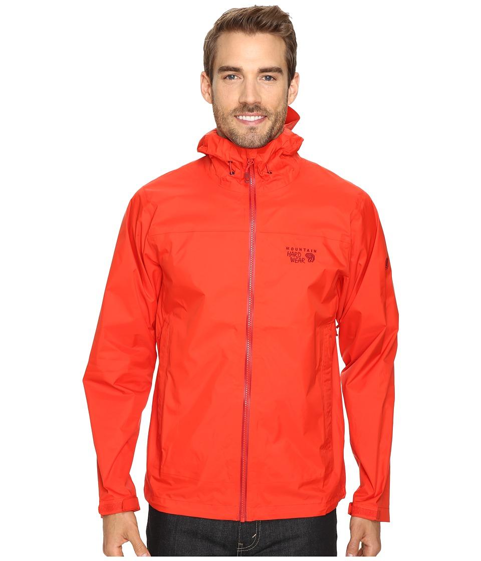Mountain Hardwear - Plasmic Ion Jacket (Fiery Red) Men's Jacket