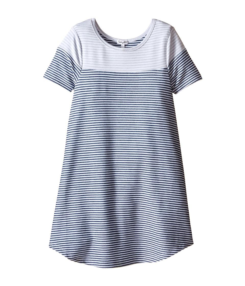 Splendid Littles - Yarn Dye Striped Double Face Dress (Big Kids) (Stripe) Girl's Dress