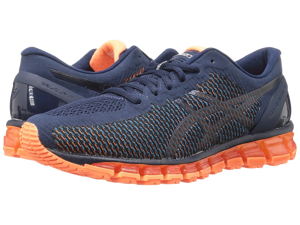 ASICS - Gel-Quantum 360 CM (Island Blue/White/Hot Orange) Men's Running Shoes