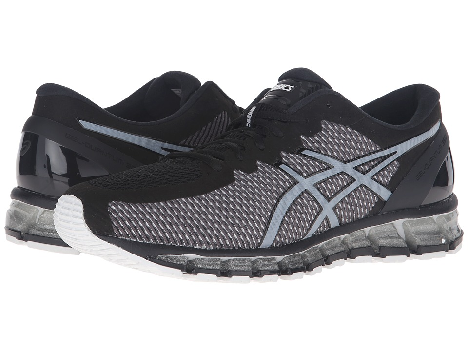 ASICS - Gel-Quantum 360 CM (Onyx/White/Silver) Men's Running Shoes