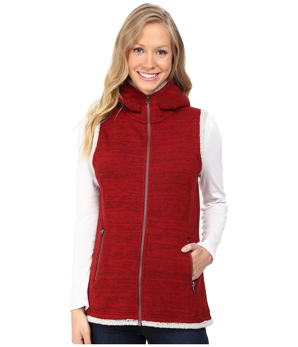KUHL - Alska Hooded Vest (Red Spice) Women's Vest