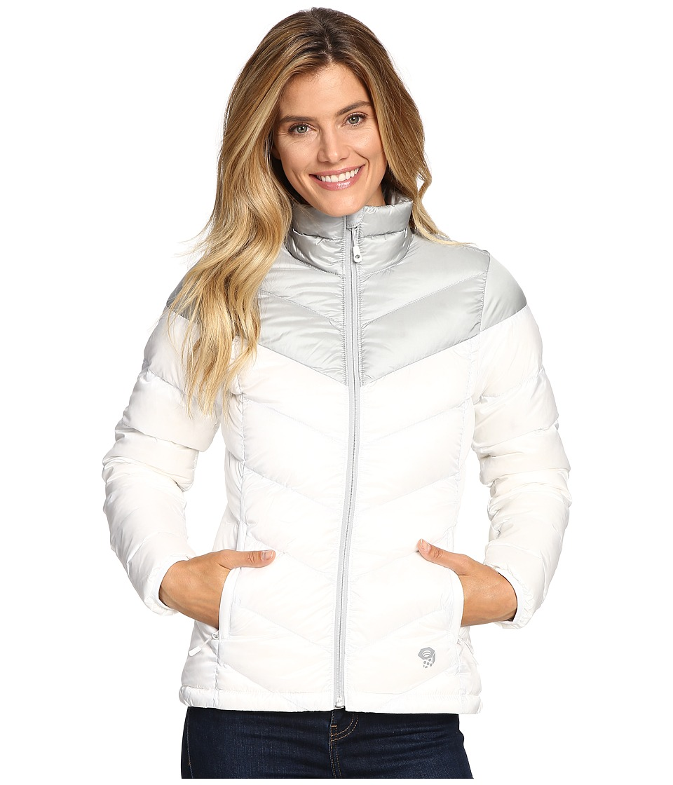Mountain Hardwear - Ratio Down Jacket (White/Steam) Women's Coat