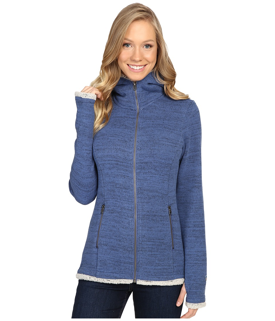 KUHL - Alska Hoodie (Storm Blue) Women's Sweater