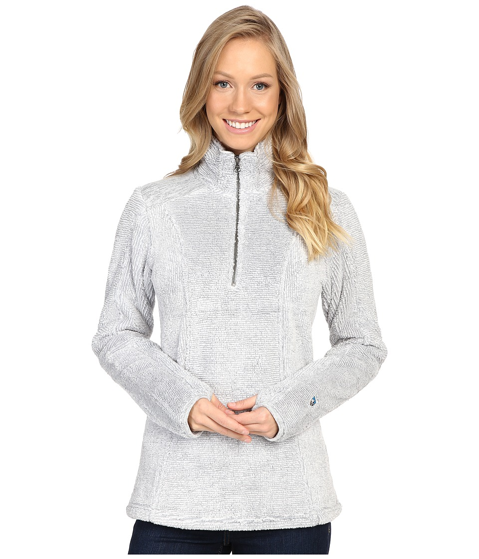 KUHL - Alto 1/4 Zip (Ash) Women's Long Sleeve Pullover