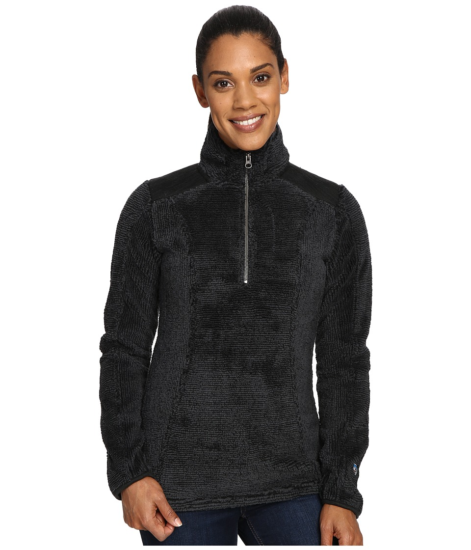 KUHL - Alto 1/4 Zip (Raven) Women's Long Sleeve Pullover