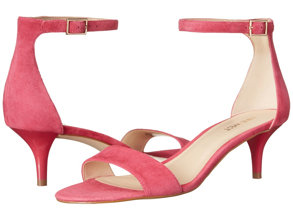 Nine West - Leisa (Dark Pink Suede) Women's Shoes