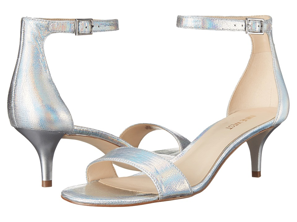 Nine West - Leisa (Silver Metallic) Women's Shoes