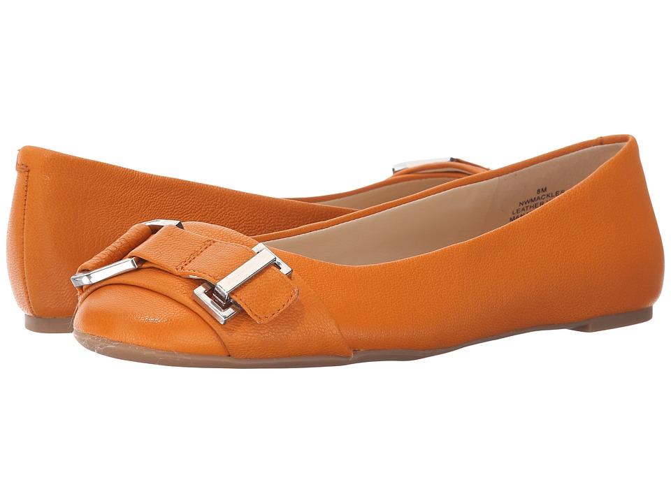Nine West - Mackles (Orange Leather) Women